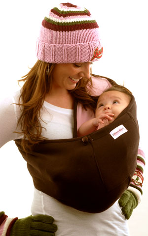 dc4e8042f6f Review  The Peanut Shell Baby Carrier Sling   Nursing Cover