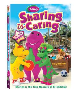 Barneyª: Sharing is Caring DVD Box Art