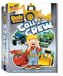 Bob The Builderª: Call in the Crew DVD Box Art